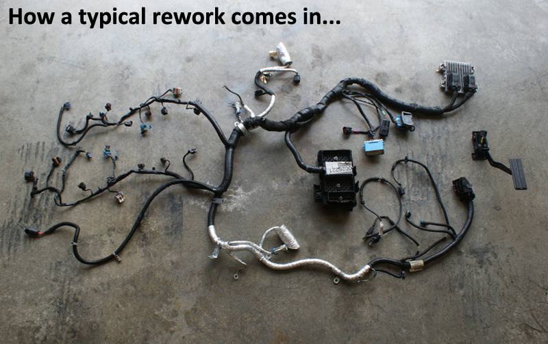 lsx wiring harness rework