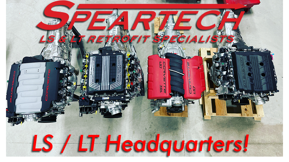 Speartech | LS Harness | LT Harness | LSX Swap Harness | LSX Powertrain  Packages | LSX Engine Packages | LS1 | LS2 | LS3 | LS7 | LSA | LS9 | LT1 |  LT4 | Vortec | 58X | 24X | Speartech Wiring Harness |  | www.speartech.com